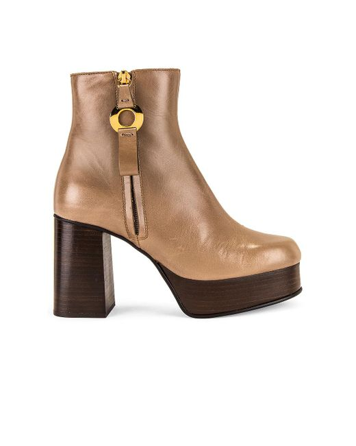 See By Chloé Giuly ブーティー Brown