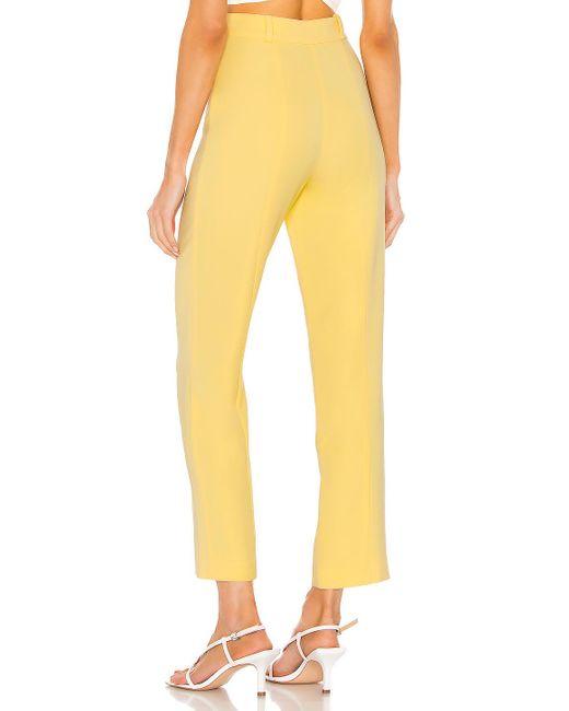 Lovers + Friends Margo パンツ Yellow