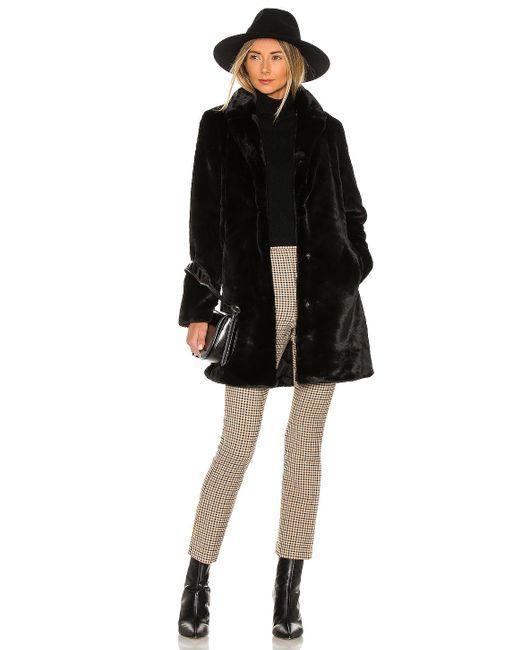 Bella Dahl コート In Black. Size S, M, L.