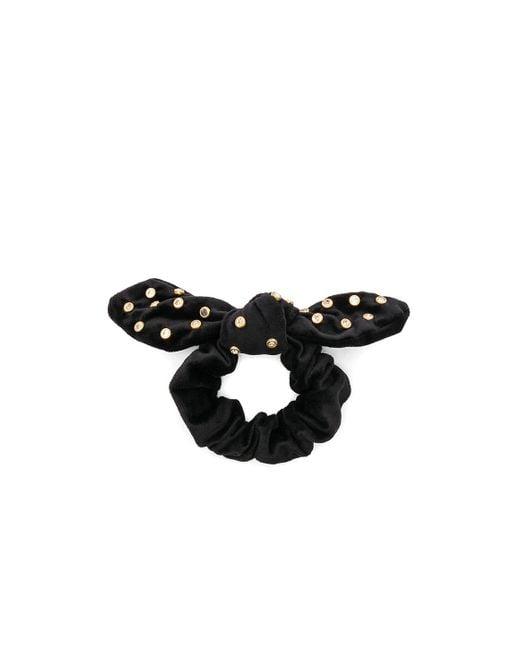 Crystal Scrunchie В Цвете Черный Кристалл Lele Sadoughi, цвет: Black