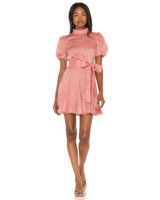 Alice + Olivia Mina ドレス Pink