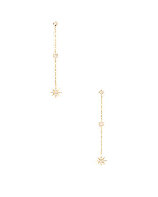 Child Of Wild - Metallic Starburst Dangle Earrings - Lyst