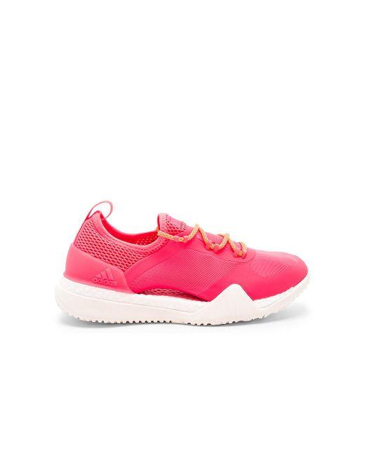 4ff3d4574c5 Lyst - adidas By Stella McCartney Pureboost X Tr 3.0 in Pink - Save 58%