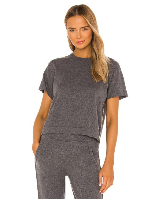 ATM Tシャツ In Charcoal. Size Xs, M, L, Xl. Gray
