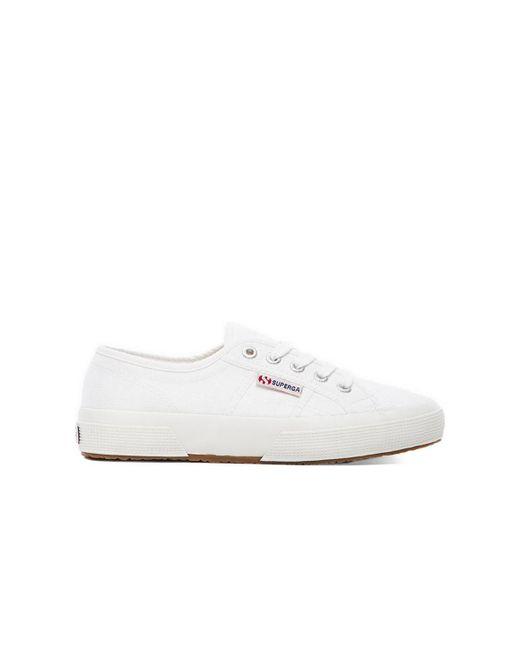 Кроссовки 2750 Cotu В Цвете Белый Superga, цвет: Gray