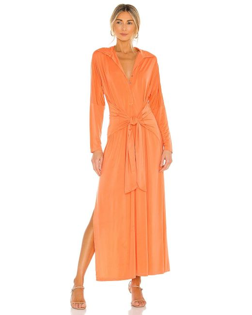 Young Fabulous & Broke Kamalla ドレス Orange