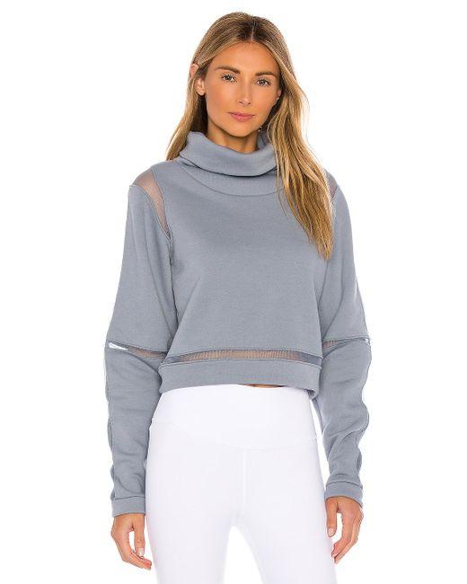 Alo Yoga Blue ® Advance Long Sleeve Top