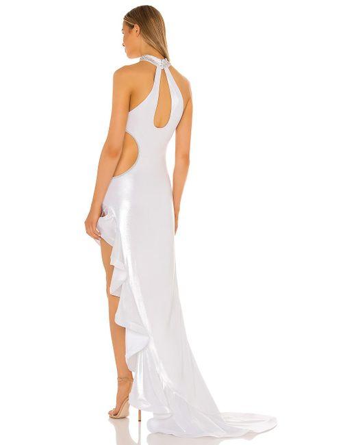 Bronx and Banco White Nefertiti Bridal Gown