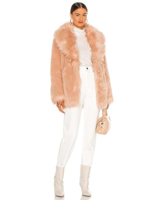 Куртка Premium В Цвете Розовая Оболочка Unreal Fur, цвет: Pink