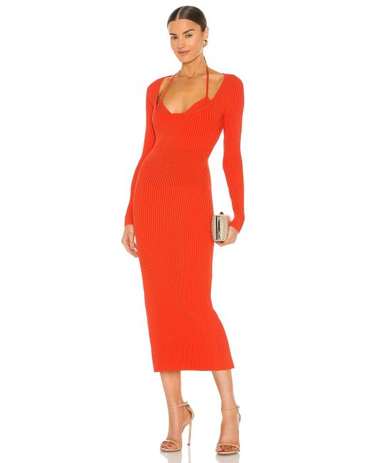 Jonathan Simkhai Liza ドレス Red