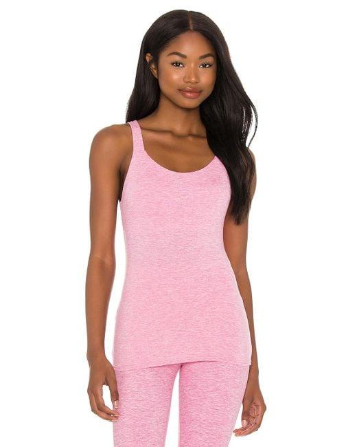 Alo Yoga Soft トップ Pink