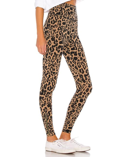 LEGGINGS LNA en coloris Brown