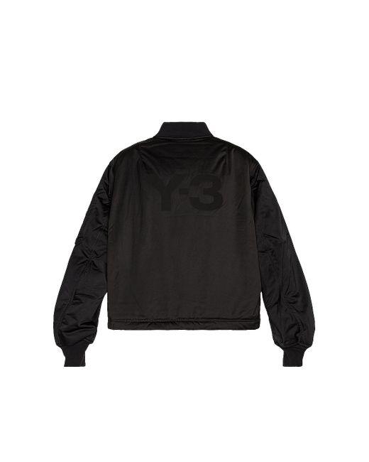 メンズ Y-3 ボンバー Black