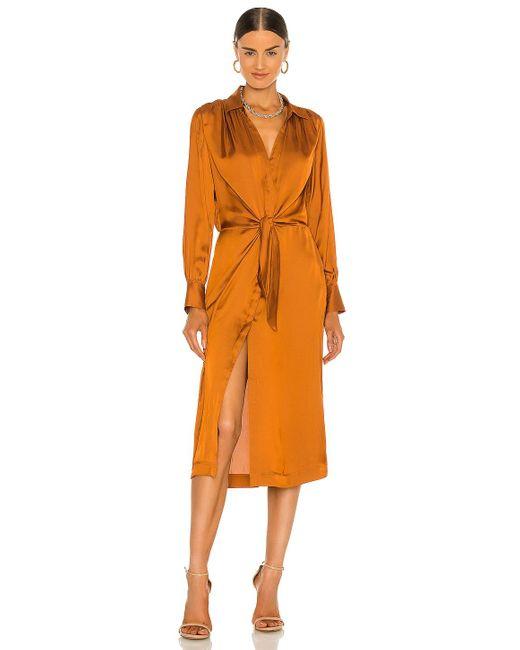 Brochu Walker Madsen シャツドレス Orange