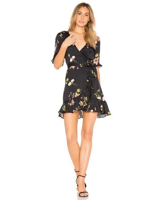 Capulet - Nadine Wrap Dress In Black - Lyst