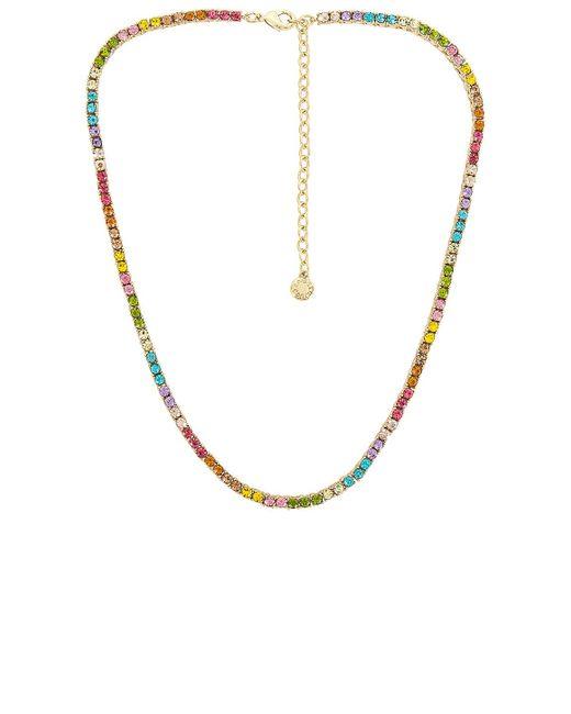Ожерелье Bennett В Цвете Мульти BaubleBar, цвет: Metallic
