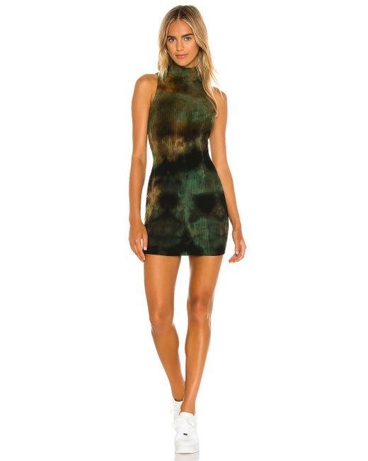 Cotton Citizen Ibiza ドレス Green