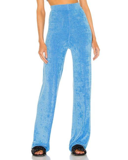 Amanda Uprichard Ariya パンツ Blue