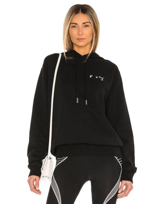 Худи Logo В Цвете Black & White Off-White c/o Virgil Abloh