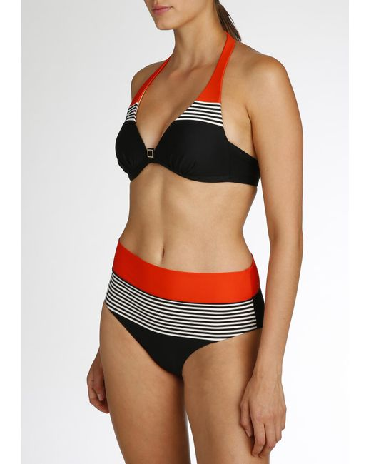 0daad3ea231eb ... Marie Jo Swim - Black Bikini Top Halter - Lyst ...