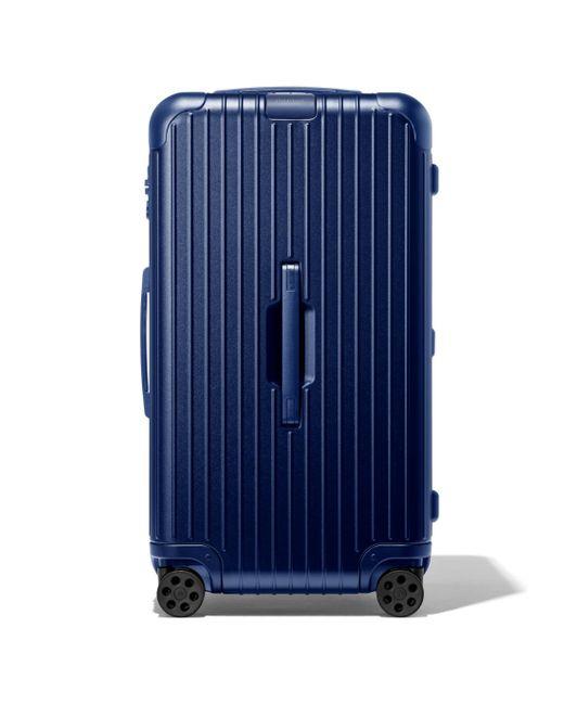 Rimowa Blue Essential Trunk Suitcase for men