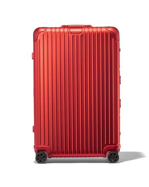 メンズ Rimowa Original Check-in L Red