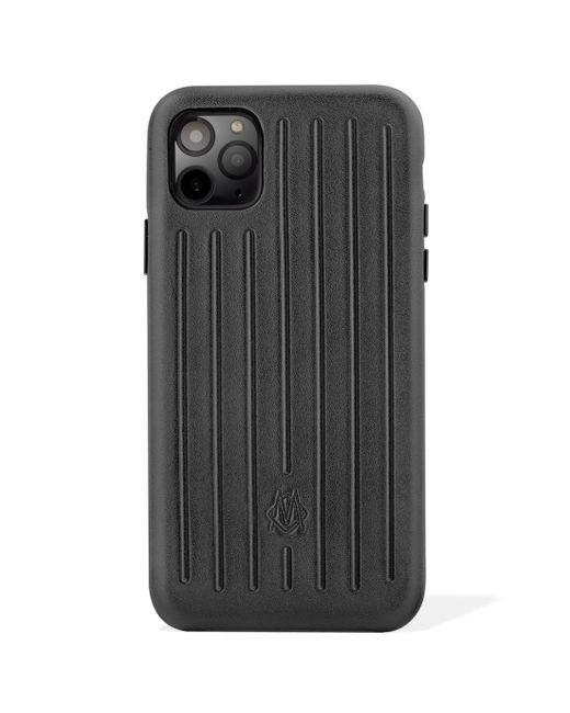 Rimowa レザー Iphone 11 Pro ケース Black