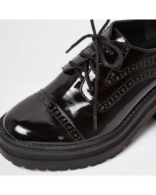 Find great deals on eBay for womens black leather brogues. Shop with confidence.