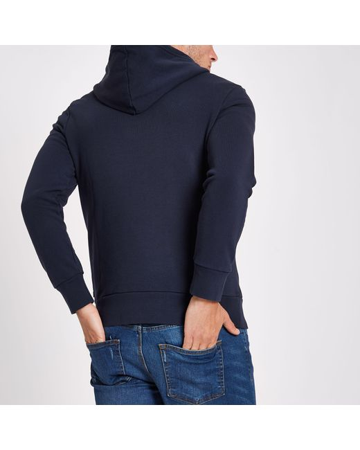 ad51330e8b0a Lyst Navy Levi's Men For Hoodie In Print Blue rqrCH4