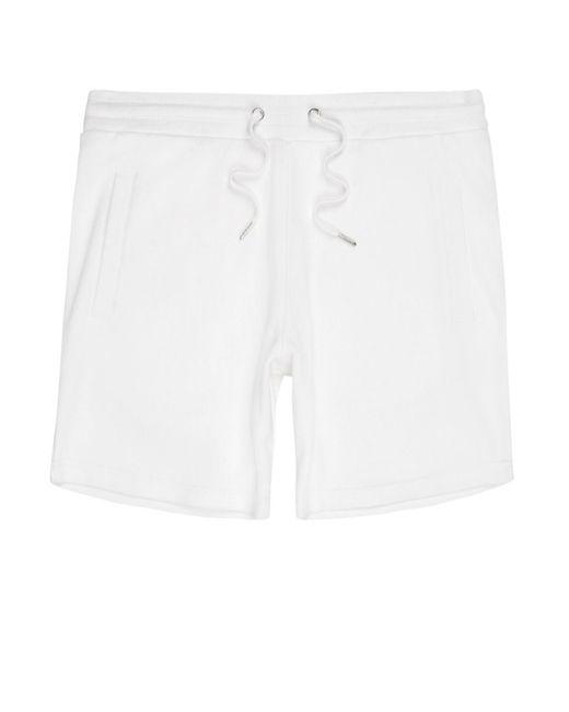 River Island | White Pique Shorts White Pique Shorts for Men | Lyst
