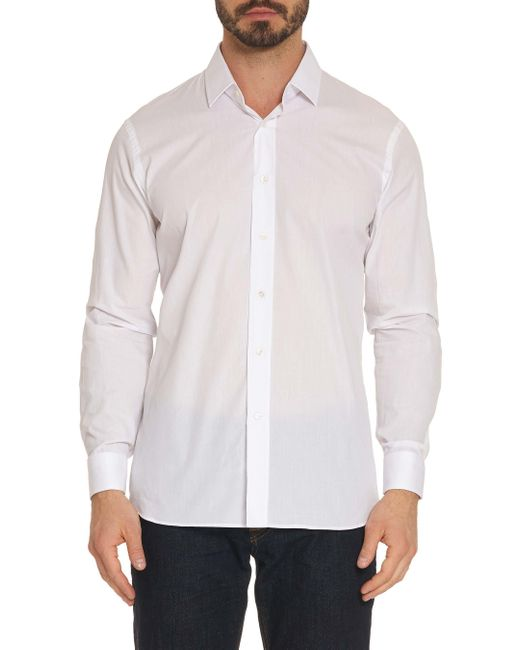 Robert Graham - White Mirihi Sport Shirt for Men - Lyst