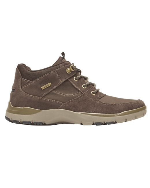 Rockport Mens Kingstin Waterproof Mid Boot - Size 7 M - Brown for men