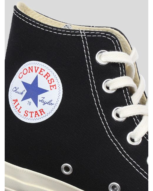 COMME DES GARÇONS PLAY Black Converse