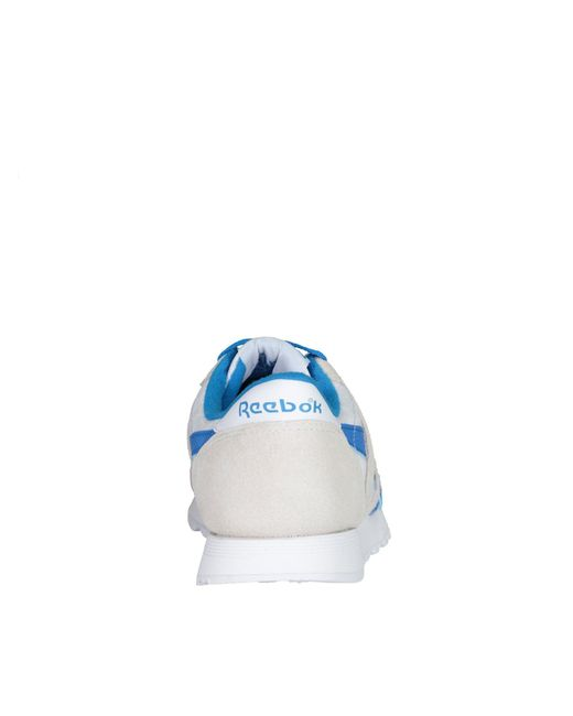 9b04c1b1aa98 ... Reebok - Blue Cl Nylon - Lyst ...