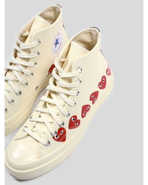comme des garcons play high tops