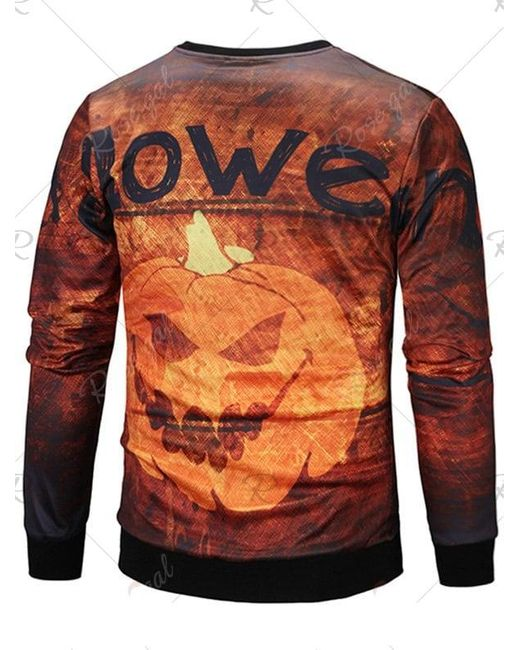 Women Long Sleeve Halloween Pumpkin Maple Kangaroo Pocket Hoodie Blouse Tops