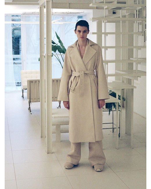 Leather Buckle Belt Trench Coat, Trench Coat Buckle Belts