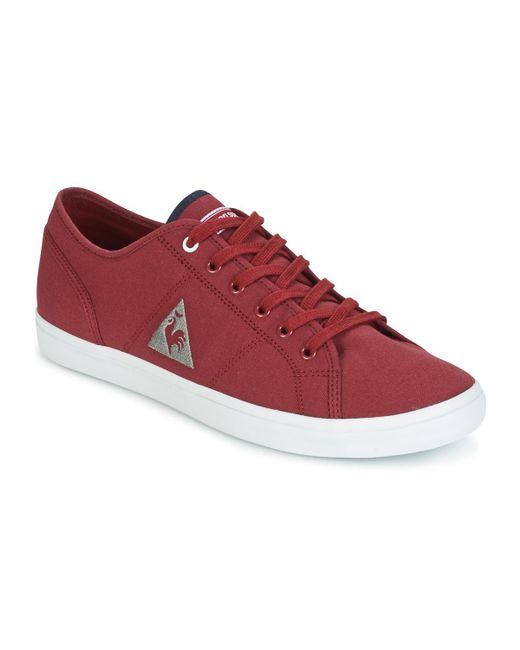 Le Coq Sportif - Red Bellevue Cvs Shoes (trainers) for Men - Lyst