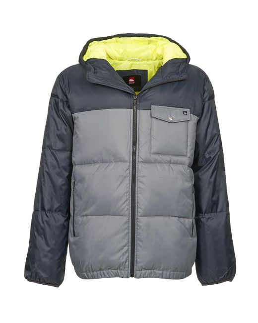 Quiksilver | Gray Baran Jacket for Men | Lyst