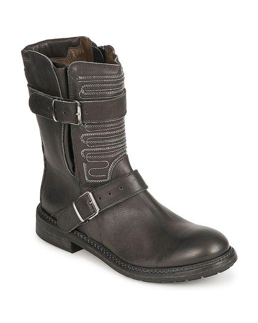 FRU.IT - Black Arline Mid Boots - Lyst