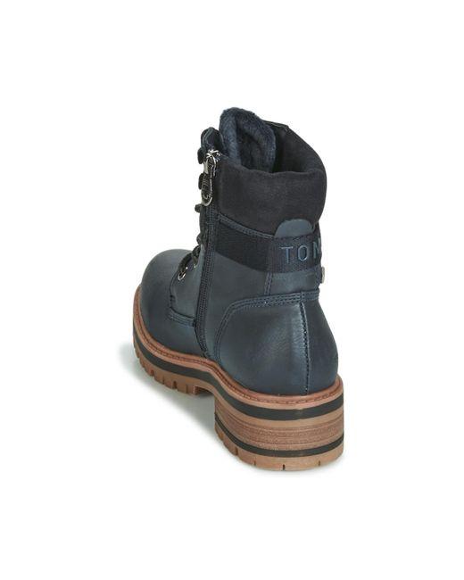 Details about Tom Tailor Mens Lace Up Boots Black show original title