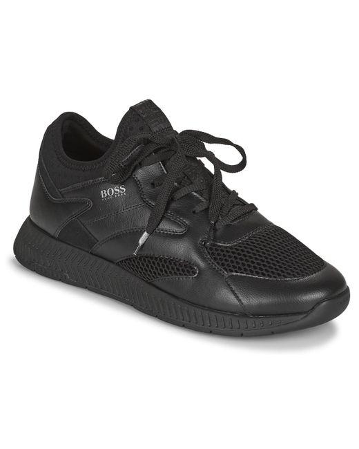 BOSS by Hugo Boss Black Titanium Runn Shoes (trainers)