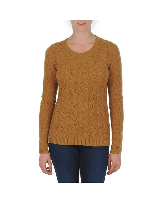 Tommy Hilfiger - Brown New Odette Sweater - Lyst
