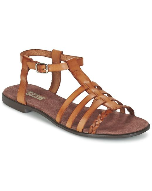 So Size Milagro Women's Sandals In Brown