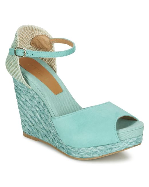 Betty London Blue Egalife Sandals