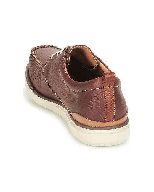 Isla Stewart Consejo Engaño  Clarks Edgewood Mix Casual Shoes in Brown for Men - Save 27% - Lyst