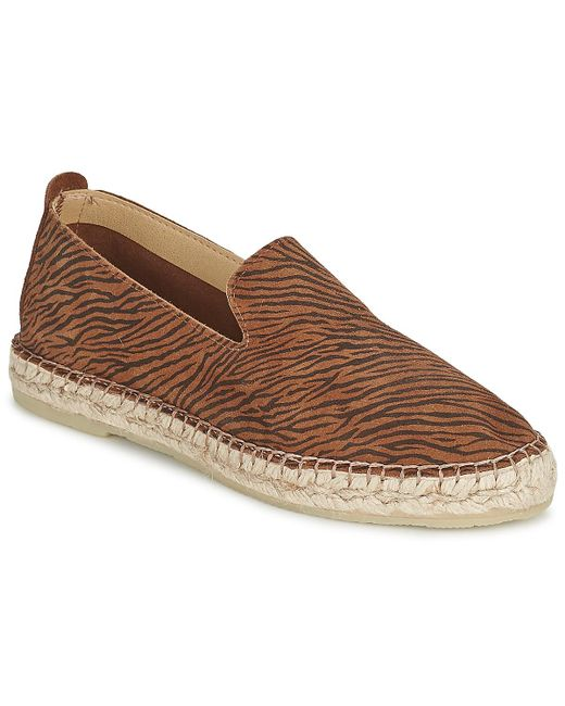 Betty London - Brown Pupila Slip-ons (shoes) - Lyst