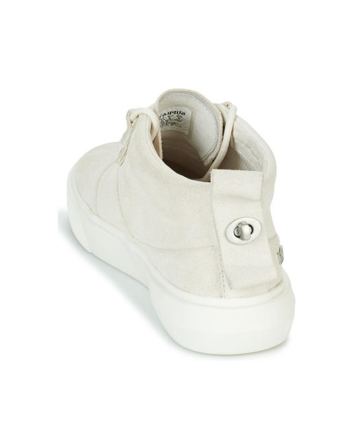 Supra White Charles Shoes (high-top Trainers) for men