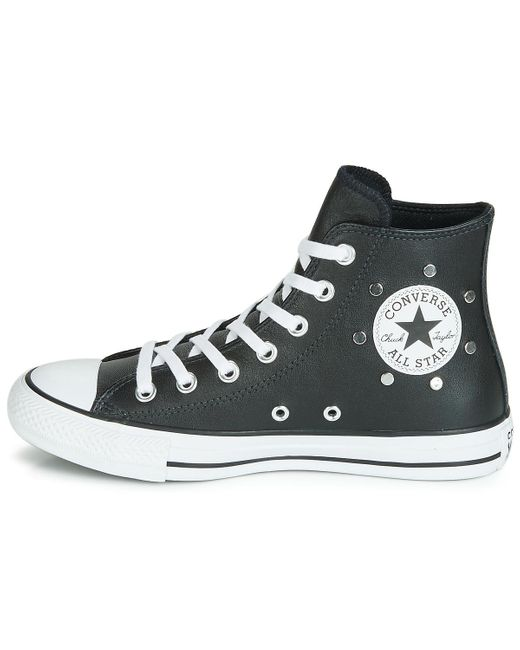 Converse All Star Hi Unisexe Blanc White Woman Men Taille 36-Taille 46