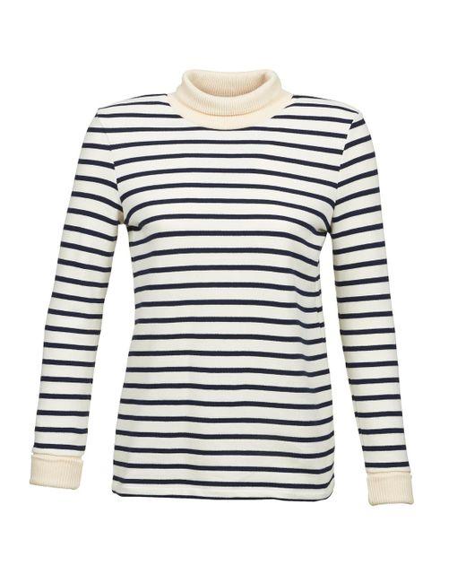 Petit Bateau - White Solder Sweater - Lyst